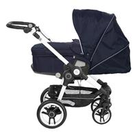 Teutonia BeYou Elite 2017 Kinderwagen Pearl R3 6175 Little Sailor VPTT 6115 Royal Seitenansicht