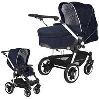 Teutonia BeYou Elite 2017 Kinderwagen Pearl R3 6175 Little Sailor VPTT 6115 Royal