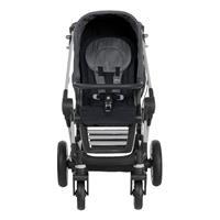 Teutonia BeYou Elite 2017 Kinderwagen Titanium R3 6040 Marble 6100 Noir Frontansicht