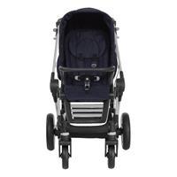 Teutonia BeYou Elite 2017 Kinderwagen Titanium R3 6115 Royal Frontansicht