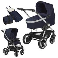Teutonia BeYou Elite 2017 Kinderwagen Titanium R3 6115 Royal GTT Titanium 6115 Royal