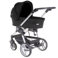 Teutonia BeYou! V2 Kinderwagen mit Comfort Plus Tragewanne | 5000 Gala Black