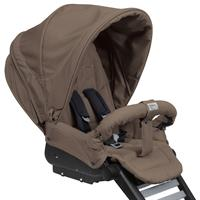 Teutonia BeYou! V2 Silber R60 Kinderwagen | 5005 Walnut Brown