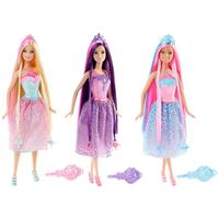 Mattel Barbie 4 Kingdoms Magic Hair Princesses