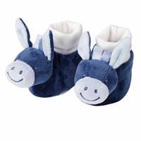 Nattou Socken mit Kuschelkopf Alex der Esel