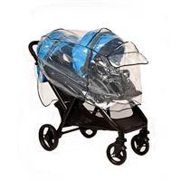 Altabebe AL1401 Regenschutz für Geschwisterwagen