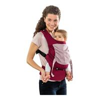 Amazonas Babytrage Smart Carrier ab 0 Monate Bordeaux