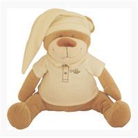 Babiage Doodoo Bär Plüschtier Einschlafhilfe für Babys Beige