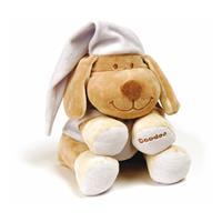 Babiage Doodoo Hund Plüschtier Einschlafhilfe für Babys Lavender