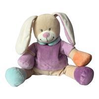 Babiage Doodoo Hase Plüschtier Einschlafhilfe für Babys Tutti Frutti Pink