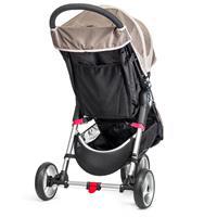 baby jogger CityMini3 TrioSet 2016 SandStone Grosses Korbnetz Aufbewahrungsfach am Sitz Auszug 06