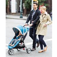baby jogger CityMini3 TrioSet familie mit kind in der city Testergebnis