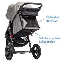 baby jogger city elite kinderwagen 2016 grau stufenlos verstellbare ruheposition Detail 05