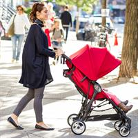 baby jogger city mini zip buggy lifestyle mama mit kleinkind Ansichtsdetail 09