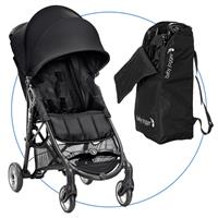 Baby Jogger City Mini ZIP Black Buggy mit Transporttasche