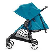 baby jogger city mini zip travel system buggy mit pebble 2016 teal watercolor blue flache liegeposit