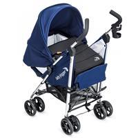 baby jogger vue buggy mit softtasche ab geburt 2014 blau entgegen der fahrtrichtung mit neugeborenem