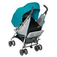 baby jogger vue lite buggy mit softtasche ab geburt 2016 aqua entgegen der fahrtrichtung mit neugebo
