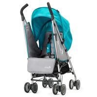 baby jogger vue lite buggy mit softtasche ab geburt 2016 aqua entgegen der fahrtrichtung Detailliert