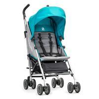 baby jogger vue lite buggy mit softtasche ab geburt 2016 aqua in fahrtrichtung Detailansicht 01