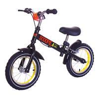 Baby-Plus Laufrad Scoopie 4 Schwarz / Gelb