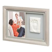 BabyArt Picture Frame for Hand- or Footprint My Tiny Touch Design Stormy