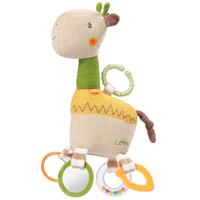 BabyFehn Activity Giraffe mit Ring