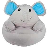 babyGO Sessel Bean Seater Elefant