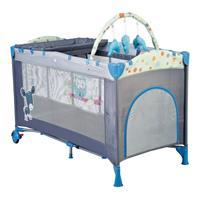 babyGO Reise und Spielbett Sleepwell Blue
