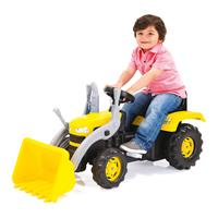 babyGO Traktor Dedger Gelb 9005