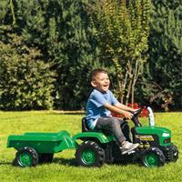 babyGO Traktor Grün 9004