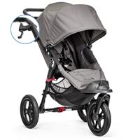 babyjogger allround kinderwagen city elite parkbremse handbremse 2016 grey Hauptbild