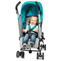 babyjogger buggy vue lite aqua parent faceing with kid Ansichtsdetail 03