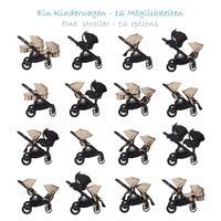 babyjogger city select kombikinderwagen mit deluxe babywanne 2016 sand stone alle moeglichkeiten Det