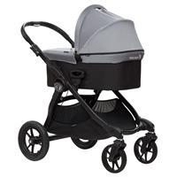 babyjogger city select kombikinderwagen mit deluxe babywanne 2016 silber grau ab geburt verwendbar D