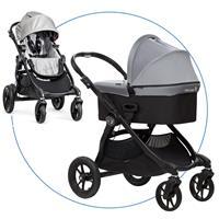 Baby Jogger City Select Kombikinderwagen Silber