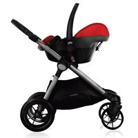 babyjogger city select trio set deluxe babywanne pebble 2016 red ab geburt mit maxi cosi babyschale