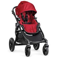 babyjogger city select trio set deluxe babywanne pebble 2016 red als sportwagen Detail 05