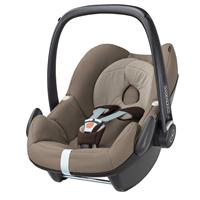 babyjogger city select trio set deluxe babywanne pebble 2016 sand babyschale earth brown Detailansic
