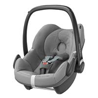 babyjogger city select trio set deluxe babywanne pebble 2016 silber babyschale concrete grey Detaill