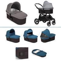 babyjogger city select trio set deluxe babywanne pebble 2016 silber grau kinderwagenaufsatz Ausschni