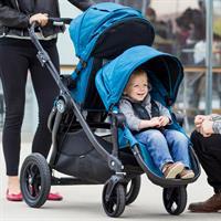 babyjogger city select zwillingskinderwagen 2016 teal kinder unterwegs Auszug 06