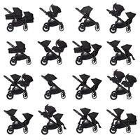 babyjogger city select zwillingswagen mit zwei babywannen 2016 black moeglichkeiten Auszug 06