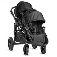 babyjogger city select zwillingswagen mit zwei babywannen 2016 black sportwagen Detaillierte Ansicht