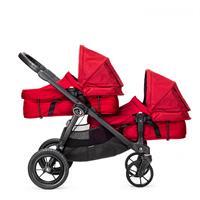 babyjogger city select zwillingswagen mit zwei babywannen 2016 red mit select wannen Detailansicht 0