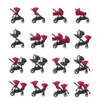 babyjogger city select zwillingswagen mit zwei babywannen 2016 red moeglichkeiten Auszug 06