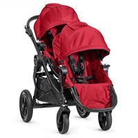 babyjogger city select zwillingswagen mit zwei babywannen 2016 red sportwagen Detail 05