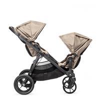 babyjogger city select zwillingswagen mit zwei babywannen 2016 sand blick zueinander Detaillierte An