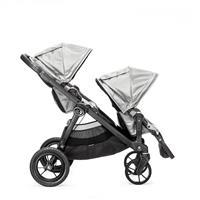 babyjogger city select zwillingswagen mit zwei babywannen 2016 silber ab 6 monaten Ausschnitt 04