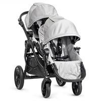babyjogger city select zwillingswagen mit zwei babywannen 2016 silber sportwagen Detail 05